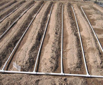 Sistema de riego por goteo con tuber as de pvc ideas - Tubo riego por goteo ...
