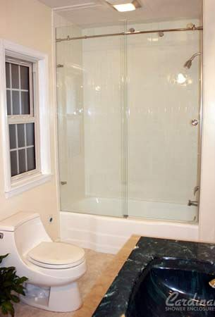 Pkb Reglazing Fiberglass Bathtub Shower Unit Reglazed White