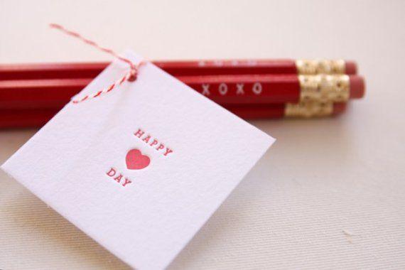 school non-food valentine idea