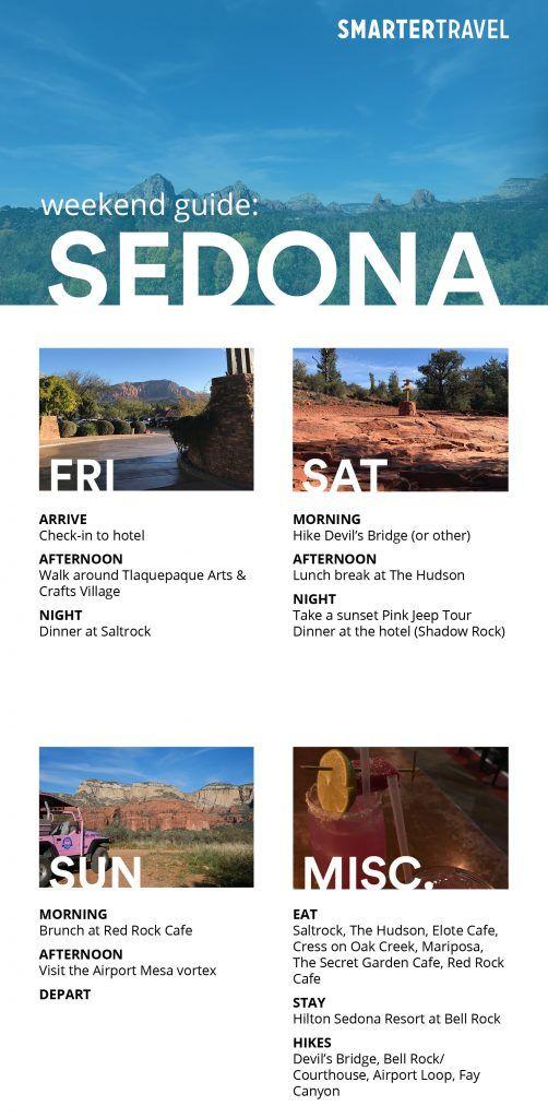 How to Do a Weekend in Sedona, Arizona