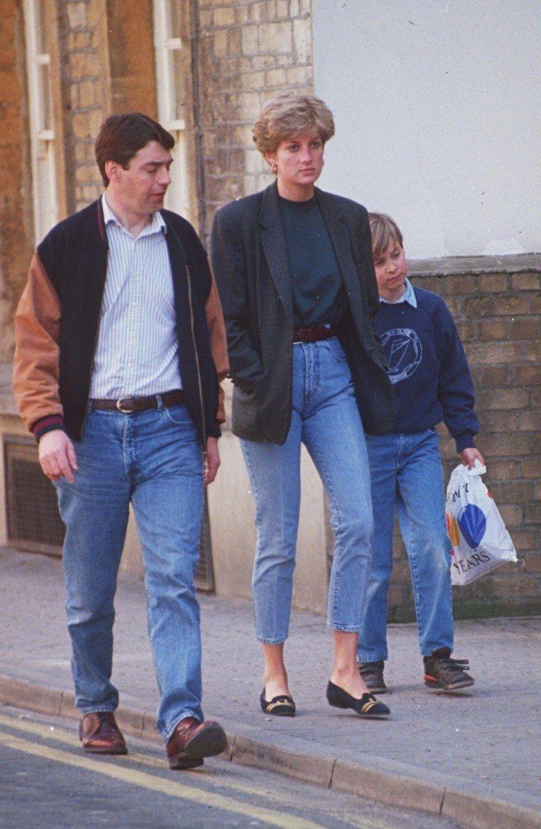 No One Did Denim Better Than Princess Diana #princessdiana