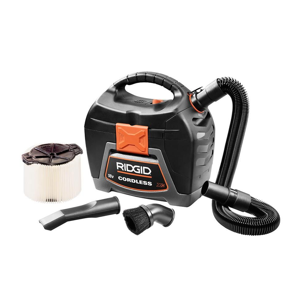 battery operated wet & dry vac