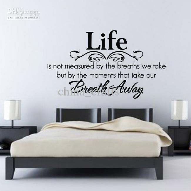 Beautiful Bedroom Wall Art Stickers Living Room Decals Wall