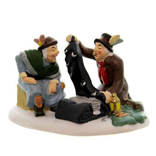 """Department 56 Christmas Carol Dickens Village a Bundle for Old Joe's Consideration Accessory, 1.77"""" -- You can get more details by clicking on the image."""
