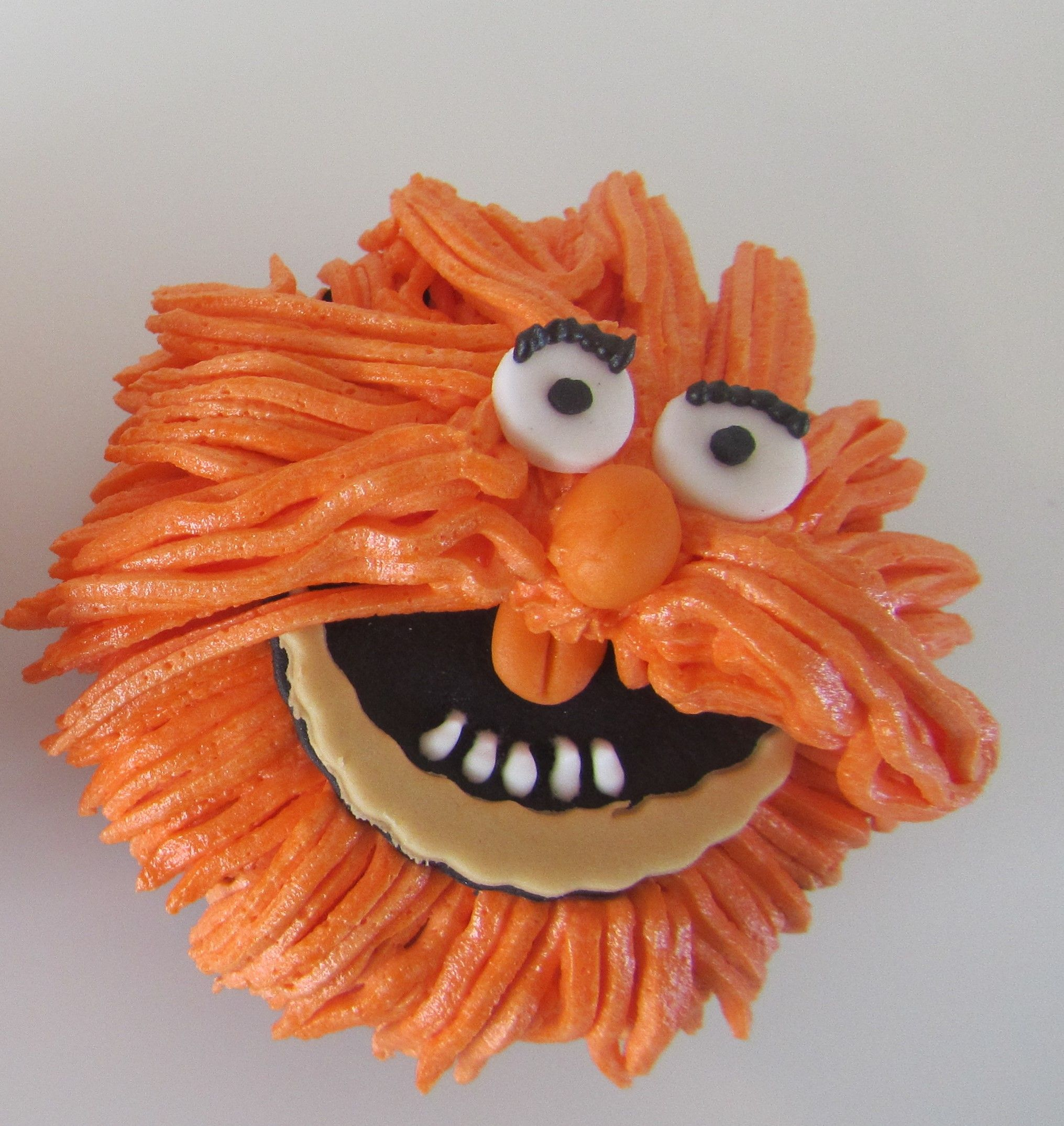 Muppet Chocolate Cup Cake