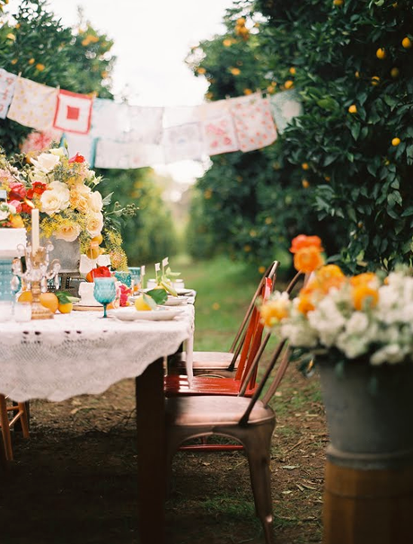 10 New and Unique Ways To Use Bunting at Your Wedding | Picnics ...