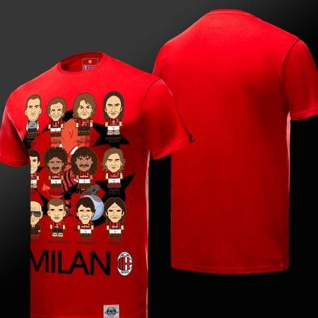 6c45782e6 Cartoon Design AC Milan Football Club T-shirts