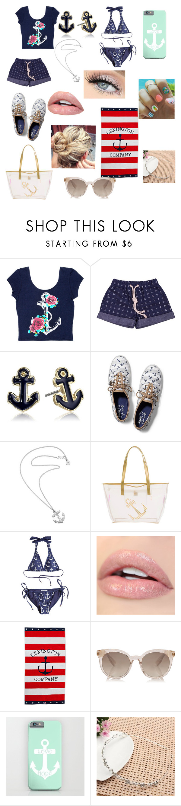 """""""Ahoi"""" by bae1991 ❤ liked on Polyvore featuring Grayson, Napier, Keds, Karen Walker, MACBETH, Amir Slama, GET LOST and Lexington"""