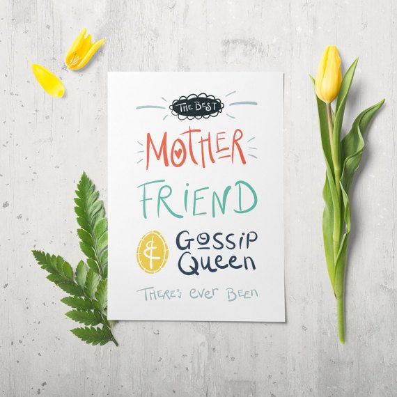 Funny Mothers Day Card Funny Birthday Card This Funny Mum Card Is