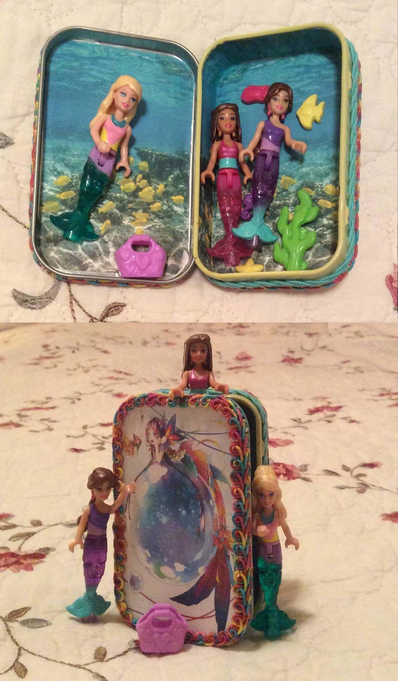 Altoid Tin Play Set also make with flower fairies