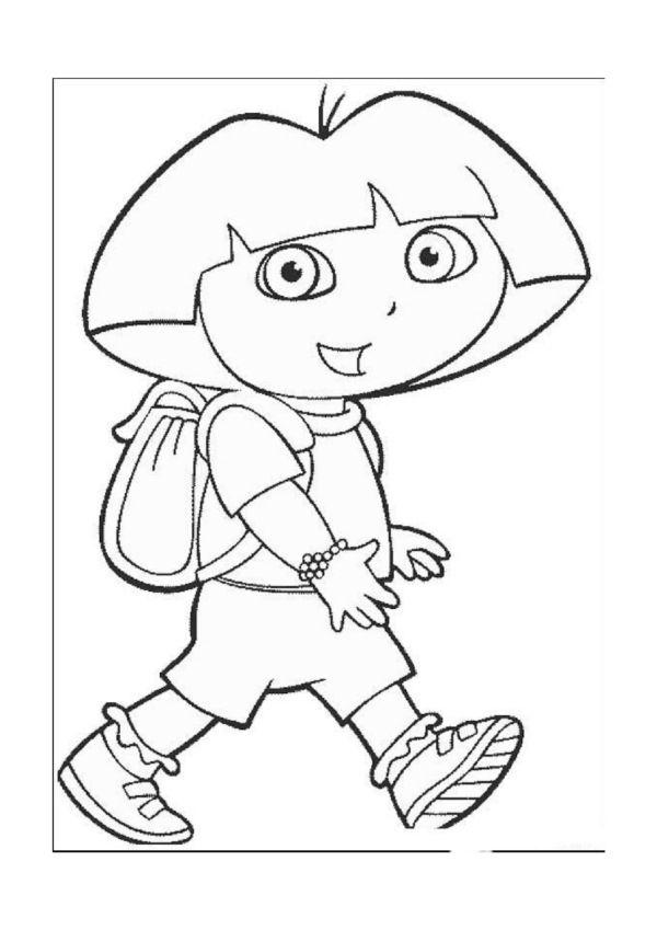 Dibujos para Colorear Dora la Exploradora 21 Dibujos para colorear