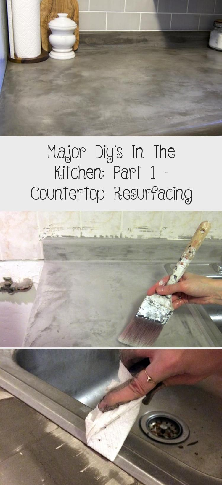 Major Diy's In The Kitchen: Part 1 - Countertop ...