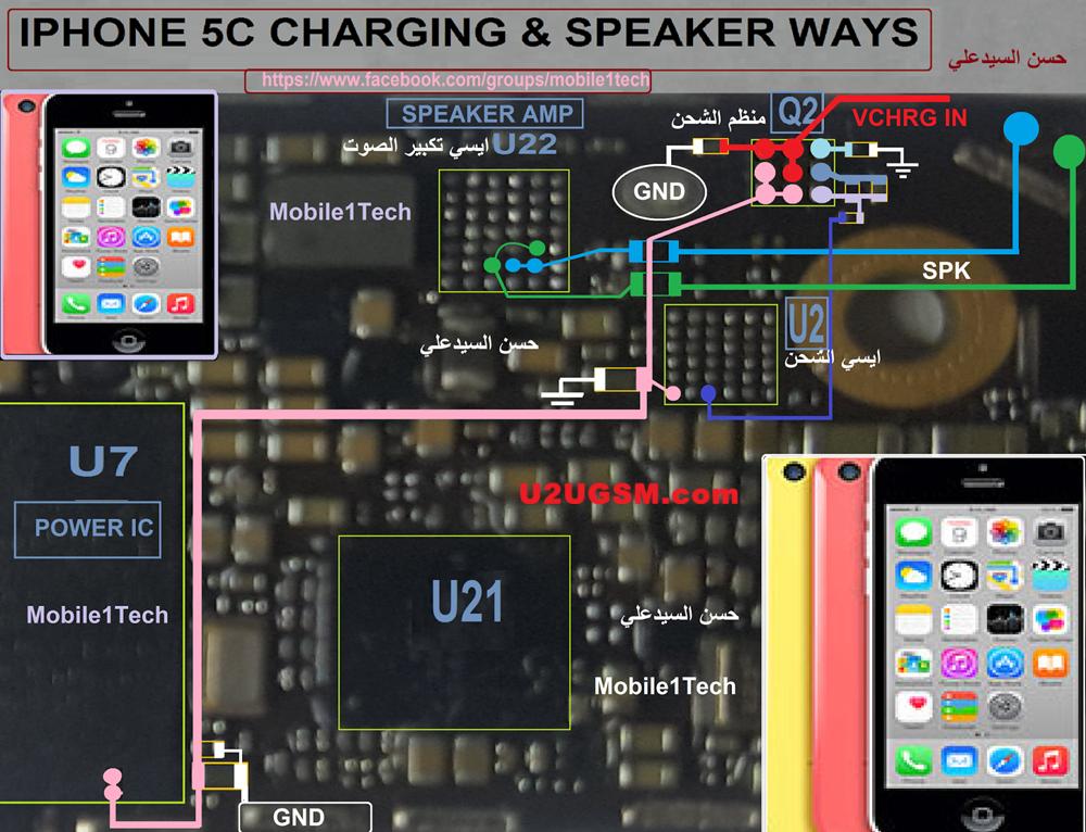 Iphone 5c Usb Charging Problem Solution Jumper Ways