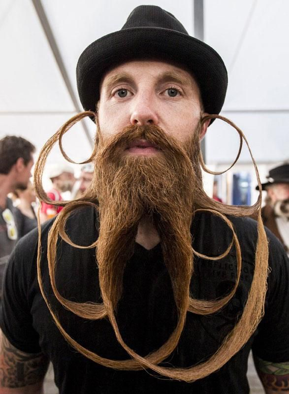 The world's most extreme beards and mustaches | Art ...