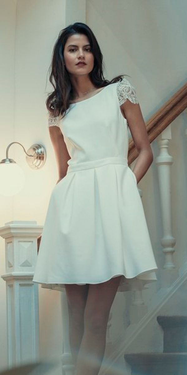 27 Amazing Short Wedding Dresses For Petite Brides | Petite bride ...