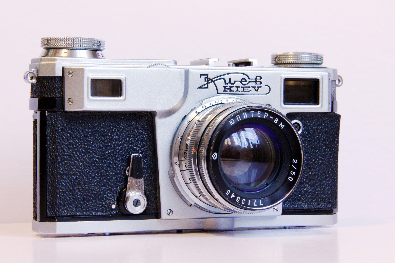 Kiev Russian Rangefinder Soviet Vintage Film Camera Copy