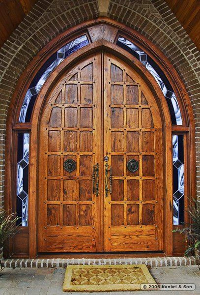 gothic leaded glass door | Gothic Arch Doors & gothic leaded glass door | Gothic Arch Doors | Unique Doors and ... Pezcame.Com