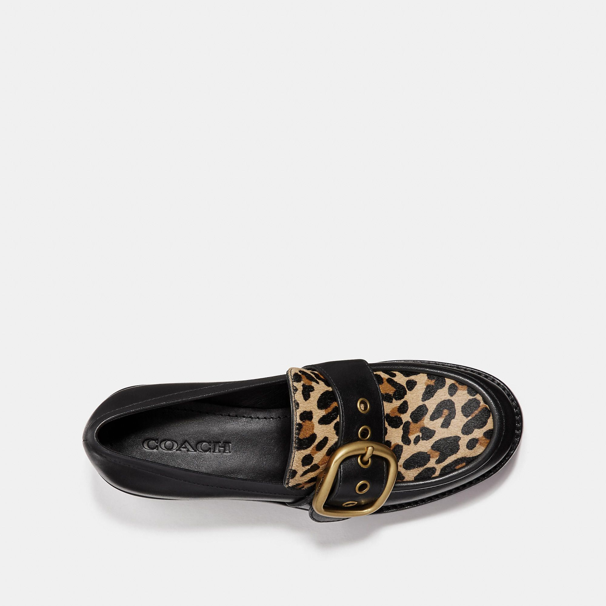 c8191add5a9 COACH Grand Loafer With Leopard Print - Women s Size 7.5 Loafers ...