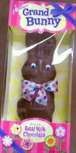 Giant grandma chocolate easter bunny 18 oz milk choclolate hollow giant grandma chocolate easter bunny 18 oz milk choclolate hollow made in the usa giant easter chocolate bunny extra grand at about tall all dressed up for negle Image collections