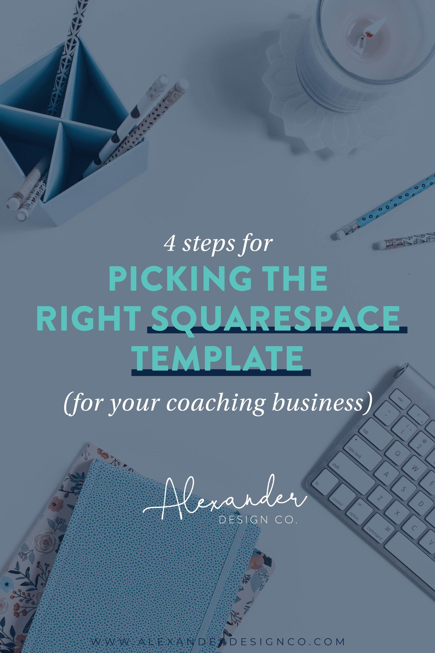 Choosing A Squarespace Template For Your Coaching Business