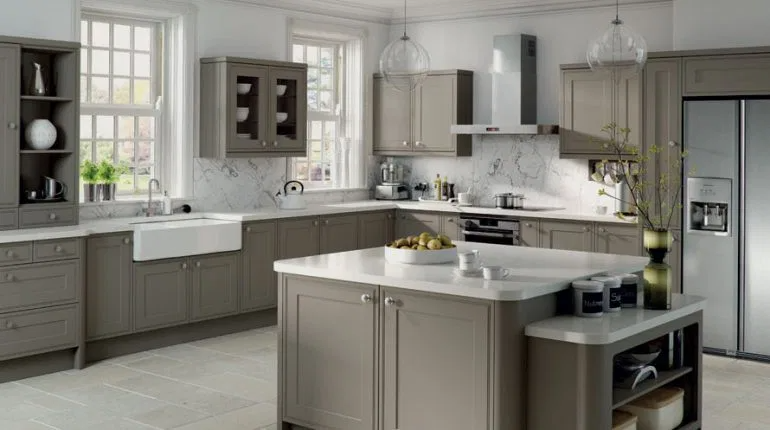 Kitchen Wall Color Ideas Best Colors, Light Grey Kitchen Cabinets What Colour Walls