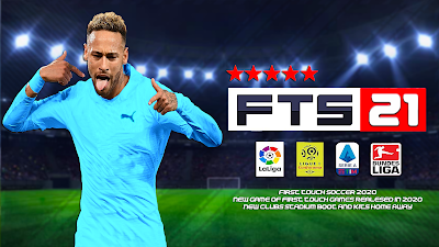 First Touch Soccer 2021 Fts 21 Apk Obb Android In 2020 Evolution Soccer Best Action Games Free Football