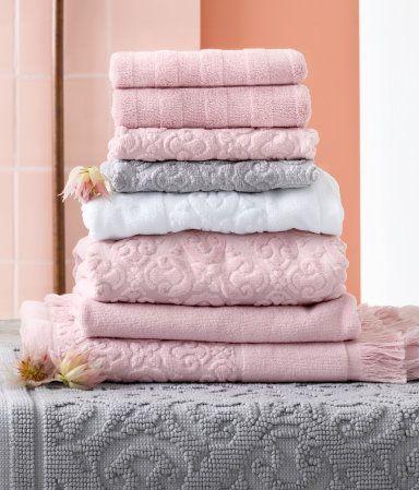 Dusty Rose Bath Towels | Tyres2c