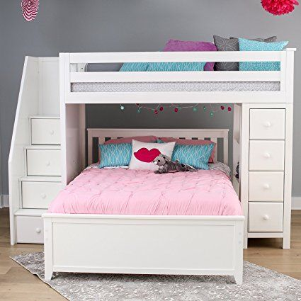 Best Amazon Com Jackpot Deluxe All In One Solid Hardwood Twin 640 x 480
