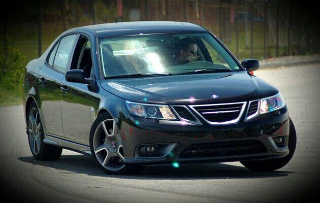 The All New Saab 9 3x Turbo At Motorweek S Testing Track In Owings Mills Maryland Usa Saab Turbo Saab 9 3 Saab