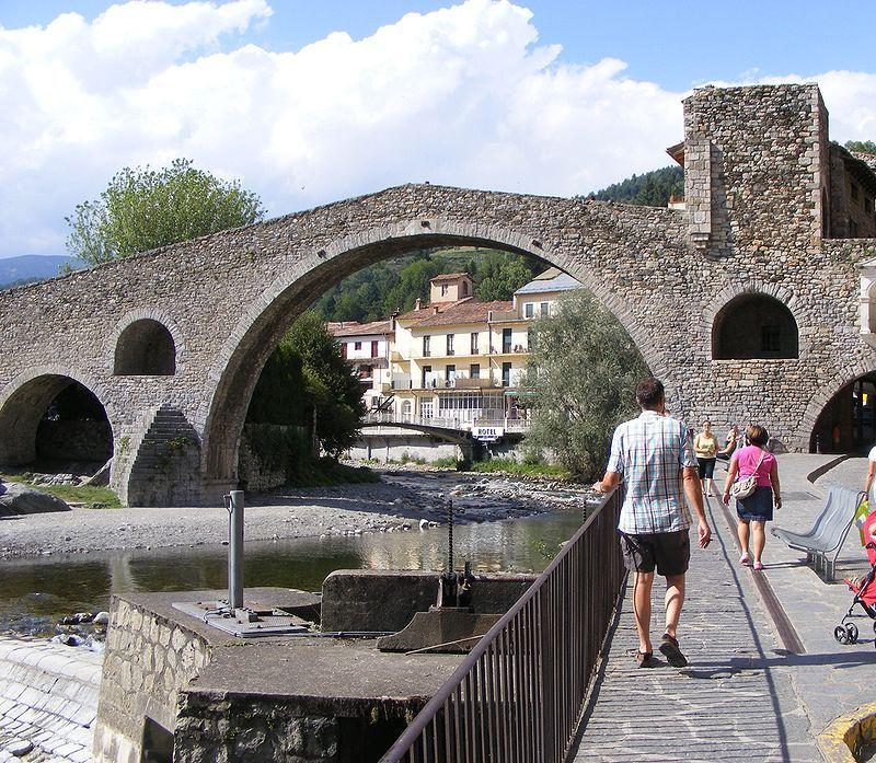 Gerona Camprodon puente
