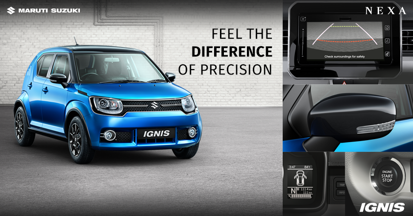 With #MarutiSuzuki #Ignis you don't just take the wheel but a super