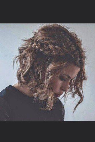 Frisur schulterlange haare abiball