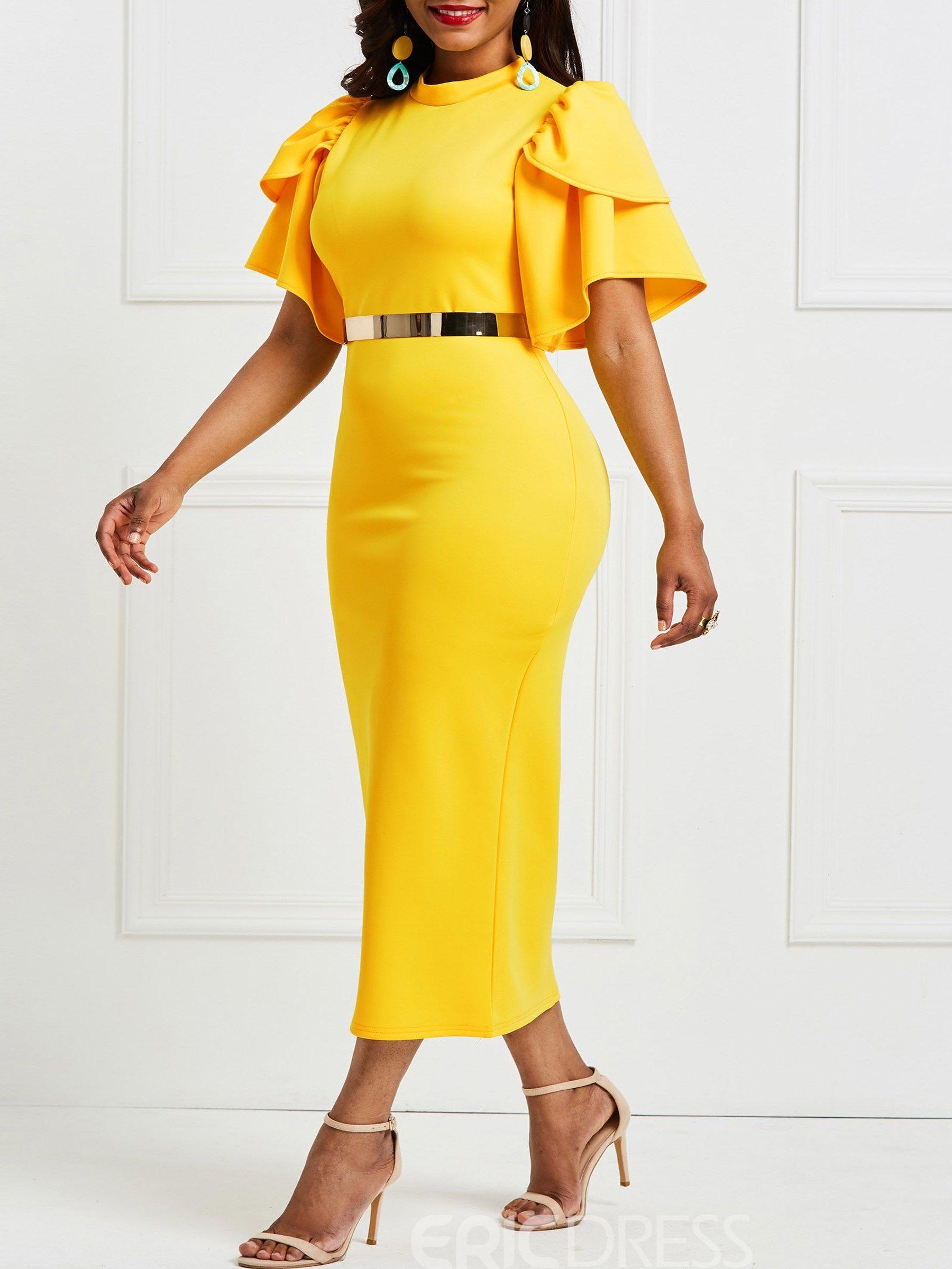 20++ Yellow dress for women information
