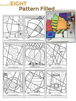 Interactive Coloring Sheets For Your Fall And Thanksgiving Art Lessons For Kids Pop Art Colors Thanksgiving Coloring Pages