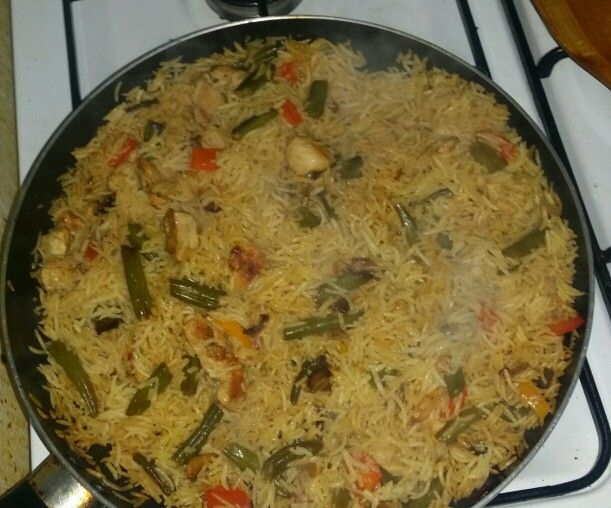 رز بخاري بالخضار وصدور الدجاج Food Homemade Rice