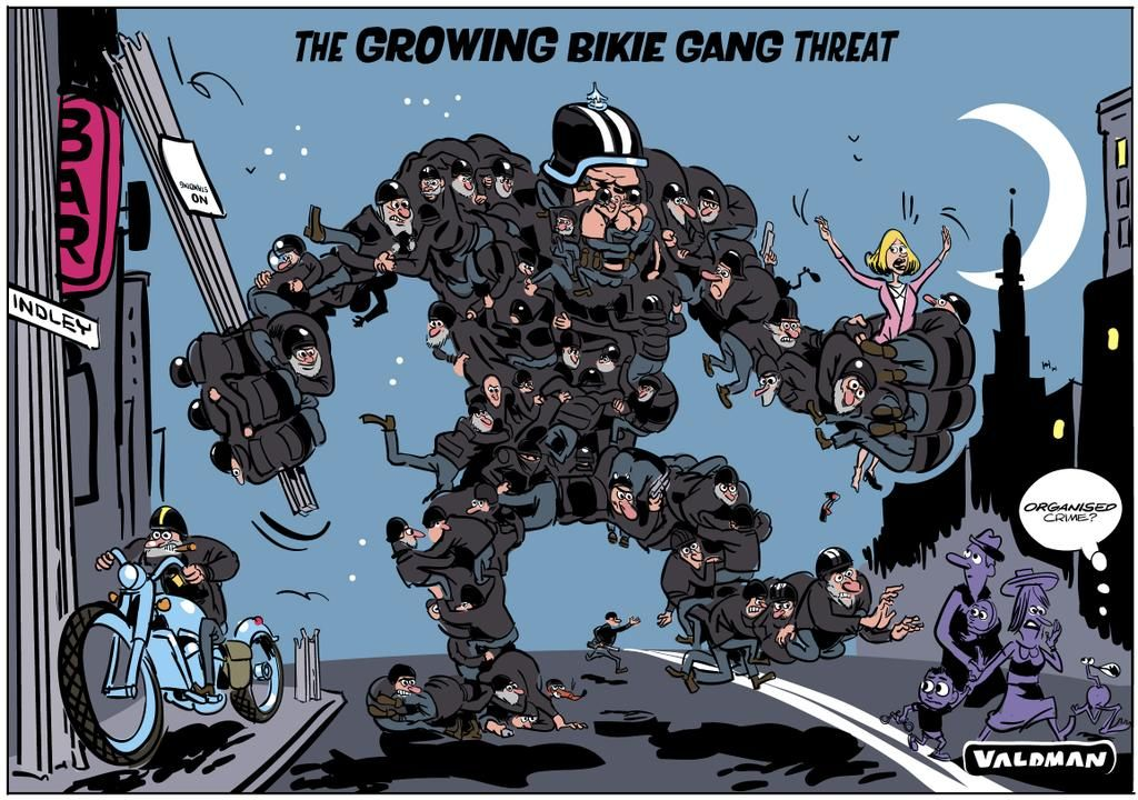 The Growing Bikie Gang Threat @theTiser  #saparli #bikielaws