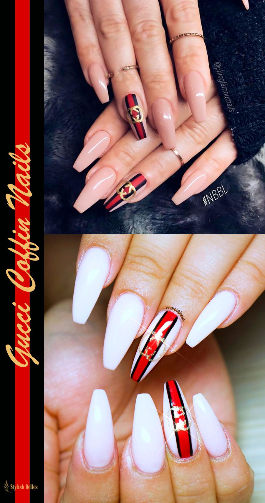 512be0c274 The Best Coffin Nails Ideas That Suit Everyone | Unhas kika | Unhas ...