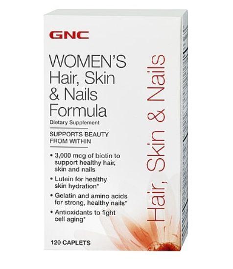 GNC multi-vitamin Hair, Skin, Nails | My Very Favorite \