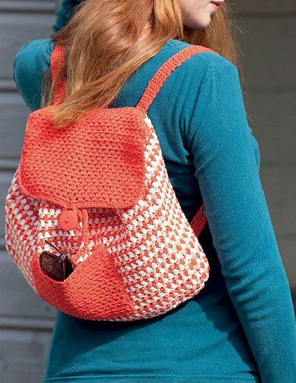 Backpack crochet pattern free | Crochet to sell | Pinterest ...