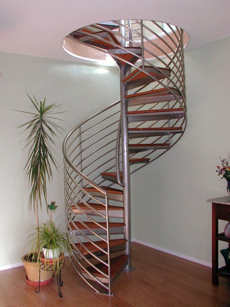 Best 13 Spiral Staircase Design Ideas For Small Spaces Spiral 640 x 480