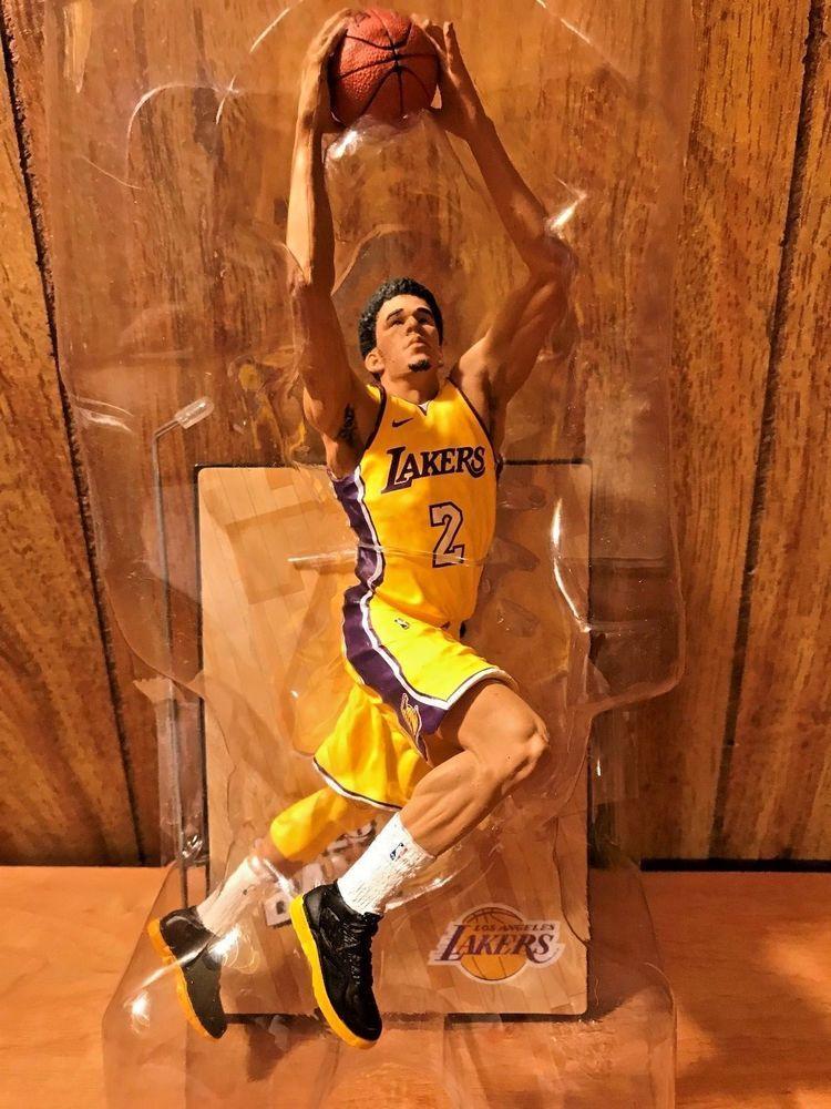 7f0ed798ae4 Lonzo Ball Los Angeles Lakers McFarlane NBA Series 32 Action Figure Statue  Loose  sports
