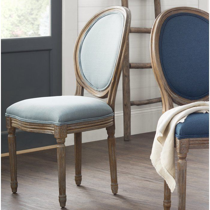 Lilian Oval Back Dining Side Chair | Dining chairs, Side ...