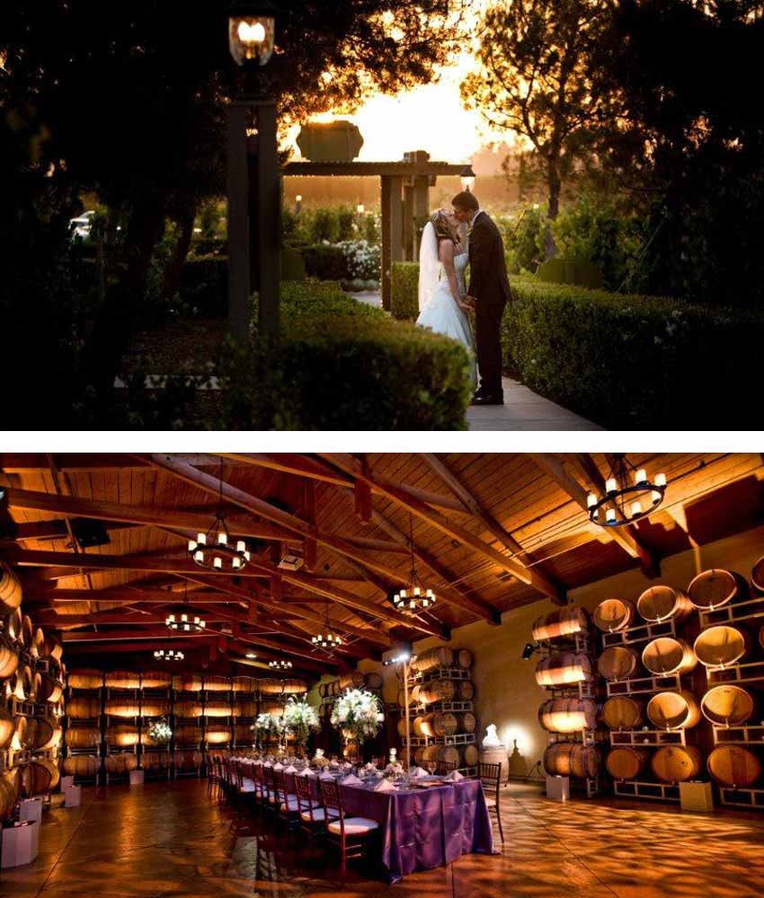 Local Venues Ponte Winery Wedding Inspiration Pinterest