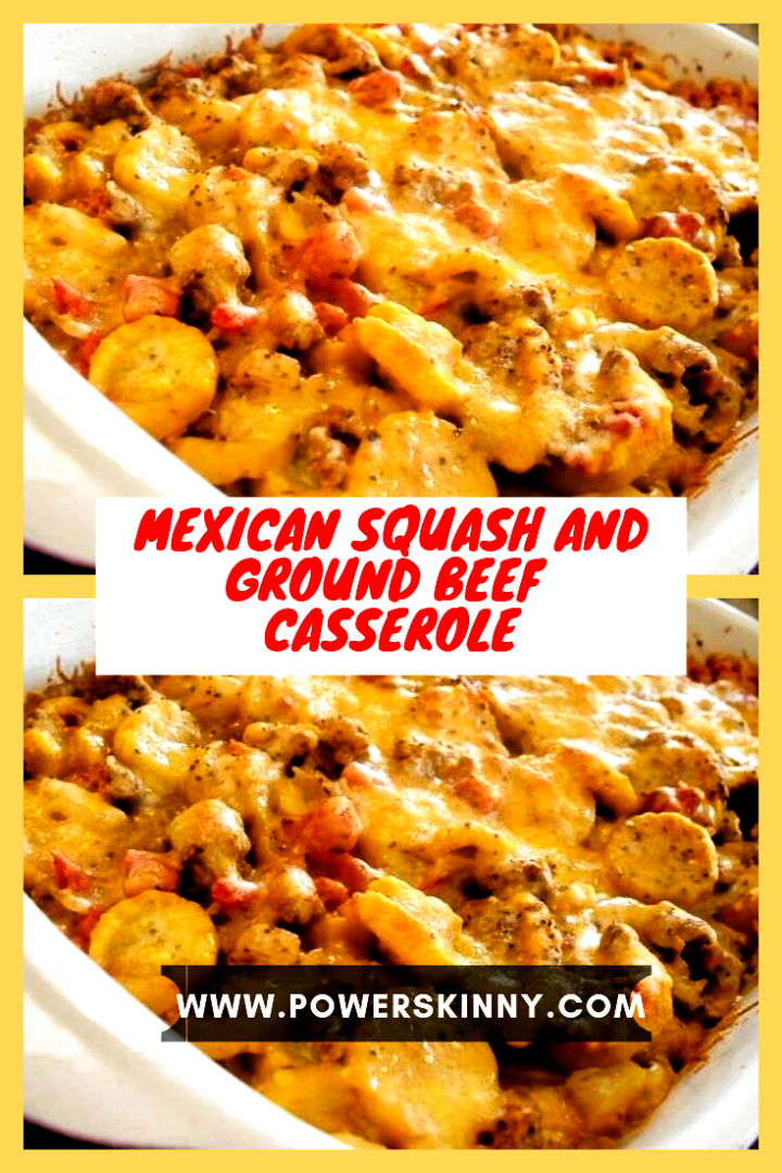 Mexican Squash And Ground Beef Casserole Page 2 One Of Recipe Recipes For Dinner Easy In 2020 Easy Healthy Recipes Ground Beef Casserole Mexican Squash