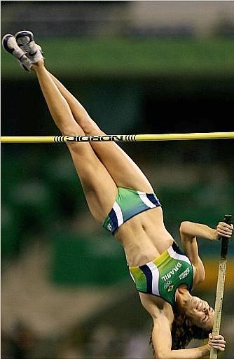 Salto Com Vara Clique Beleza In 2020 Track And Field Pole Vault Sports Women
