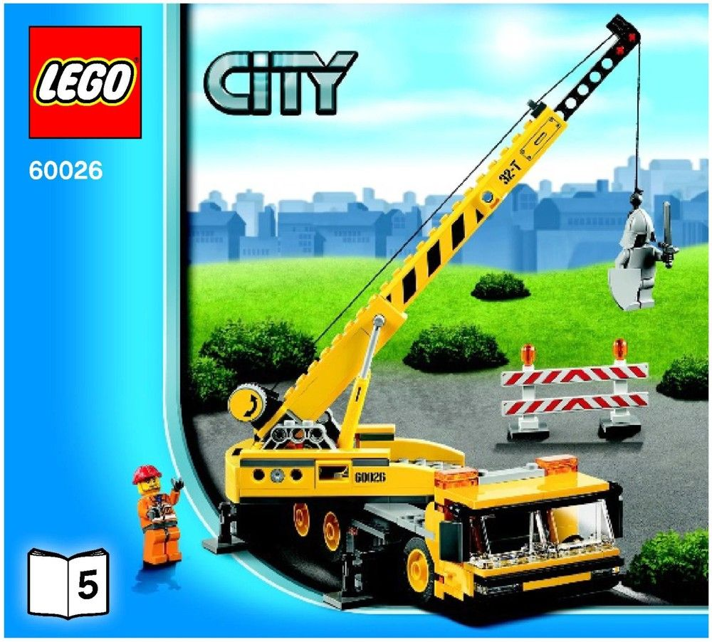 City - Town Square Lego 60026