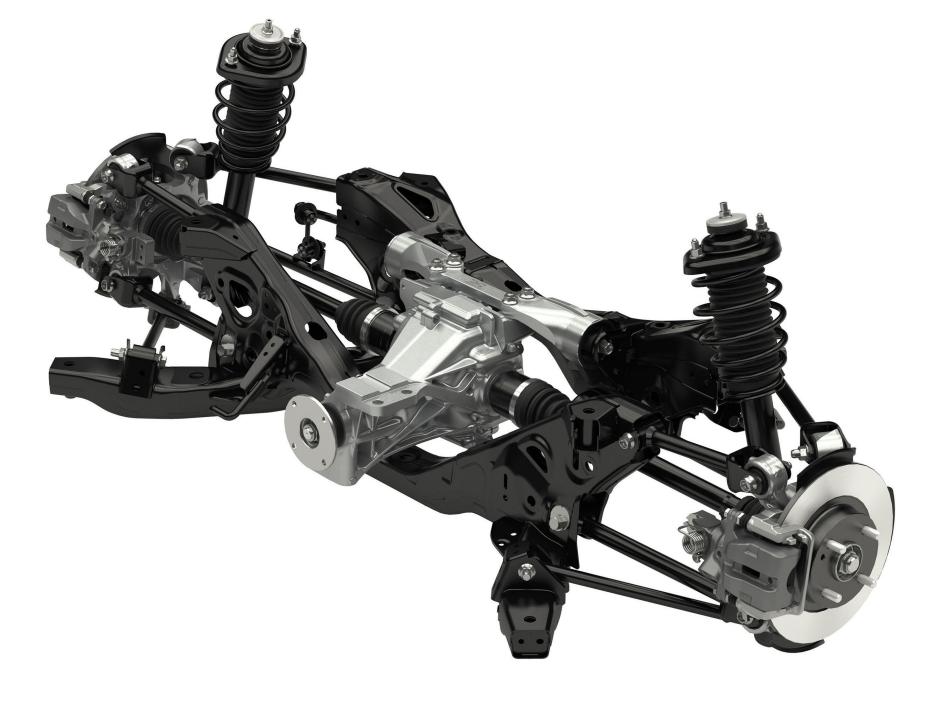 Mazda MX-5 Roadster ND Rear Suspension | Mazda mx5 | Pinterest ...
