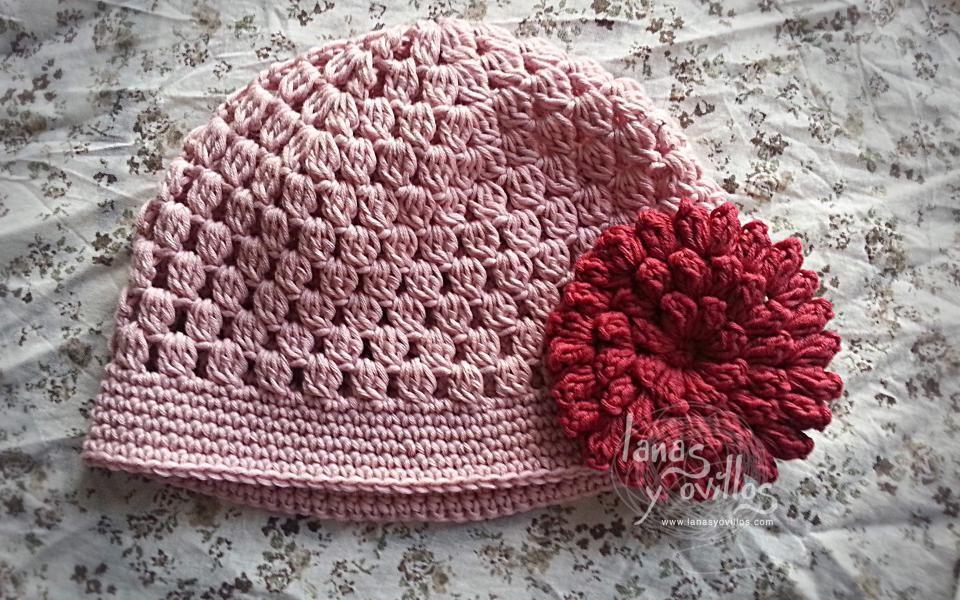 easy crochet hat free pattern patrón gratis | tutoriales | Pinterest ...