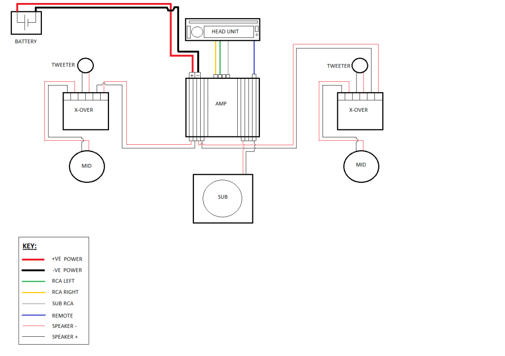 two way coaxial speaker wiring diagram   38 wiring diagram