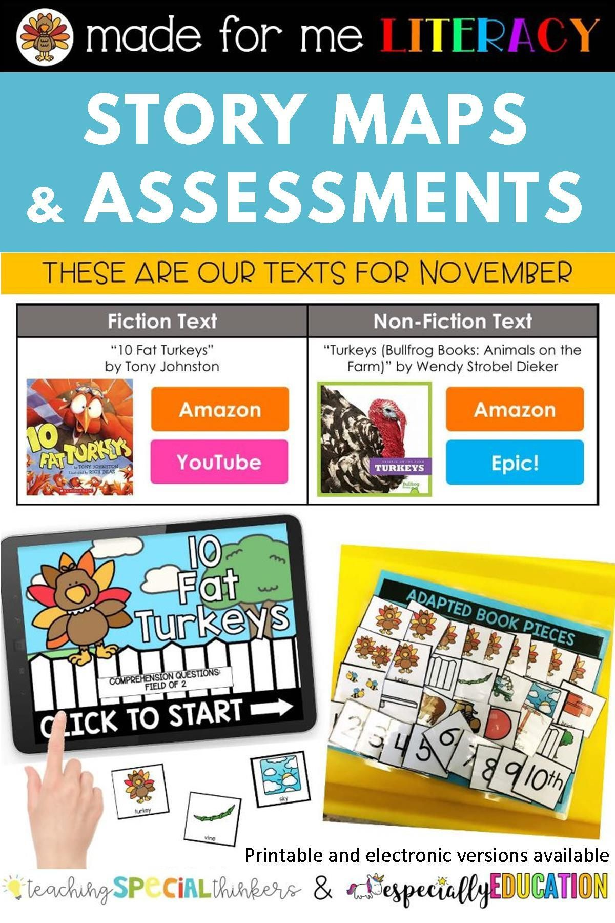 Our November Made For Me Literacy Unit Is All About